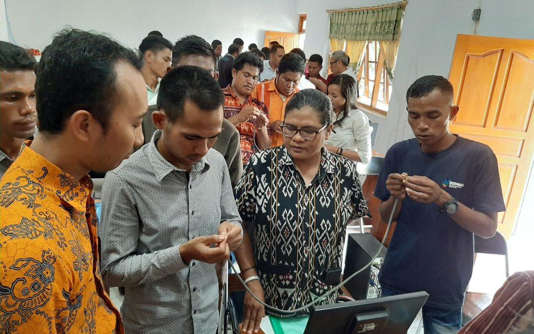 Peer Teaching Menguatkan Kompetensi Peserta Bimtek Proktor UNBK