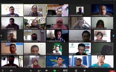LPMP Se-Indonesia Mengikuti Bimtek Bantuan Layanan Aplikasi dan Data PPDB 2020