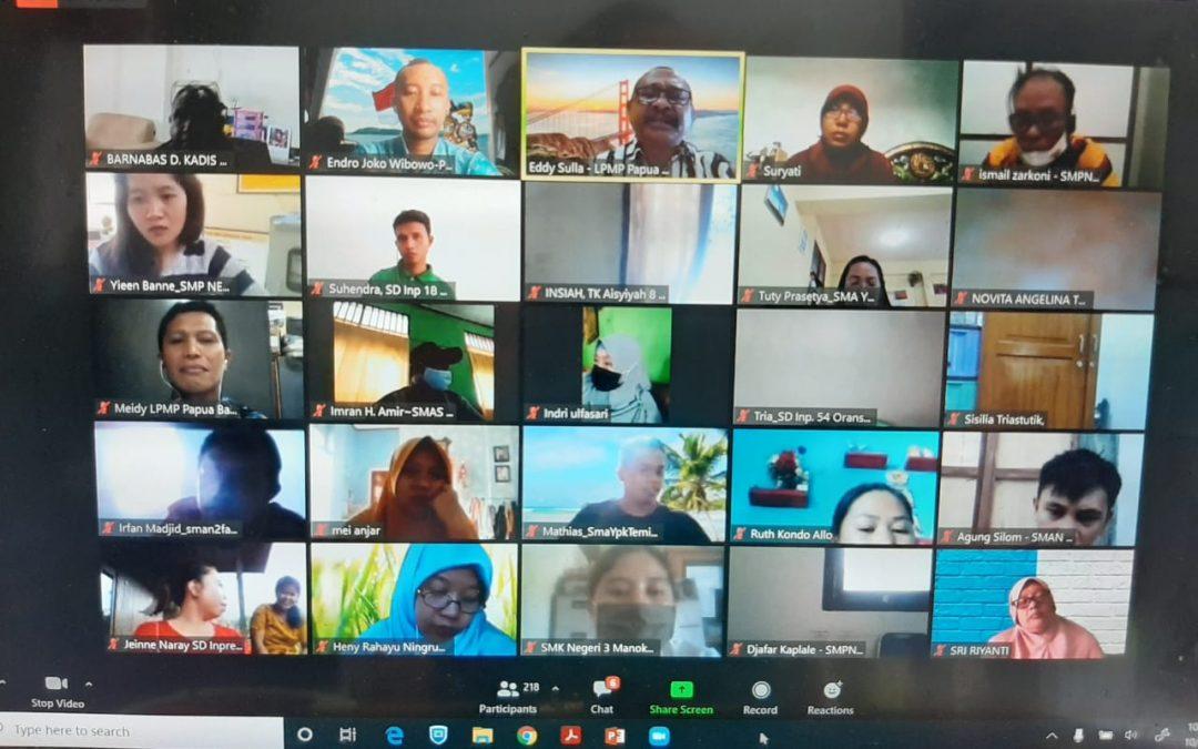 Sosialisasi Bantuan Kuota Data Internet Tahun 2020 di Provinsi Papua Barat